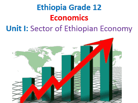 Unit I: Sector of Ethiopian Economy