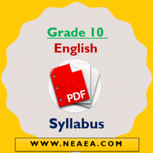 Grade 10 English Syllabus 2020 [PDF] Ethiopian