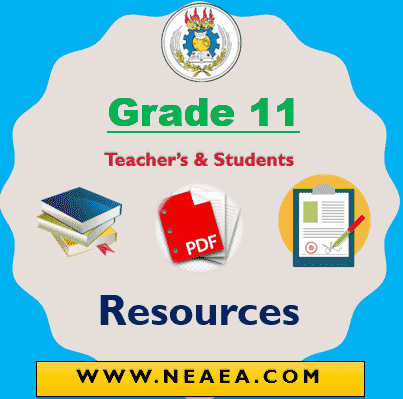 Ethiopian Grade 11 Textbook PDF [Free Download]