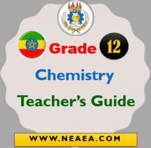 Ethiopian Grade 12 Chemistry Teacher Guide PDF