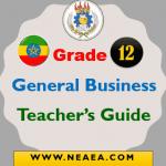 Ethiopian Grade 12 General Business Teacher Guide PDF