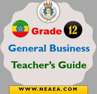 Ethiopian Grade 12 General Business Teacher Guide PDF