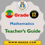 Ethiopian Grade 12 Mathematics Teacher Guide PDF