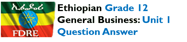 EUEE  General Business Unit 1 Question Answer